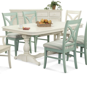 Hues Rectangular Extension Dining Table
