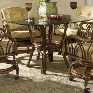 Orchard Park Dining Table With Glass Top