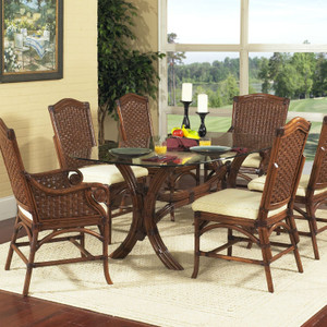 Riviera 7 PC Dining Set with Side Chairs
