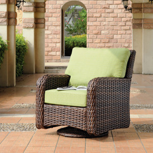 Saint Tropez Outdoor Swivel Glider