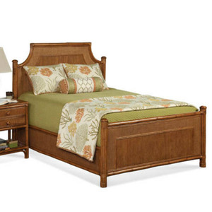 Summer Retreat Arched Queen Complete Bed