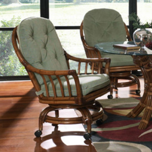 Walnut Grove Dining Chair With Casters