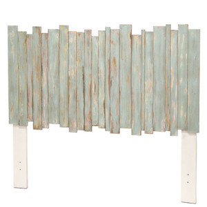 Island Breeze Picket Fence Headboard