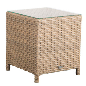 Lodge Outdoor Lamp Table