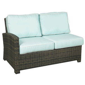 Lakeside Outdoor Left Arm Loveseat
