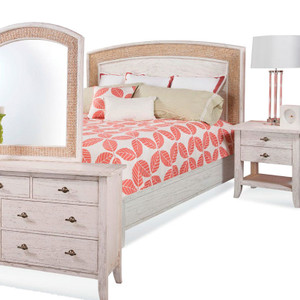 Fairwind 4pc Queen Seagrass Bedroom Set