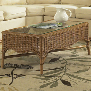 Bodega Bay Coffee Table with Glass Top