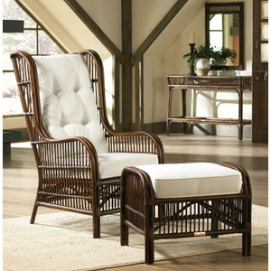 Bora Bora Occasional Chair with Ottoman