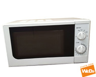 Manual Microwave Oven 700W 17L - White (Refurbished)