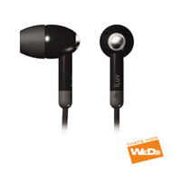 iLUV i301BLK BLACK LIGHTWEIGHT IN EAR EARBUDS EARPHONES iPOD iPAD iPHONE …