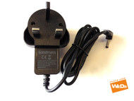 Goodmans GDVDPLY01 Portable DVD Power Supply AC Adapter 9V