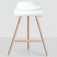 Triple Wood Leg Barstool