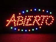 Open sign (Abierto)