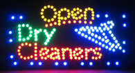 Open sign (Dry Cleaners)