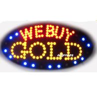 Open Sign (We buy gold)