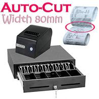 Cash Register & Receipt Printer Combo