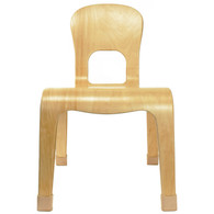 """KIDS SIZE Real Wood Side Accent Chair 10"""" Seat Height"""