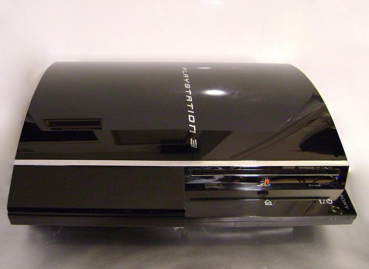 Backward Compatible PlayStation 3 Console Model CECHE01, 3.55 Firmware