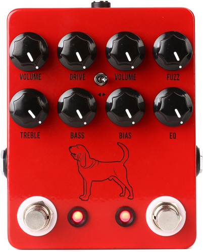 JHS Pedals ~ The Calhoun V2 Overdrive / Fuzz Pedal