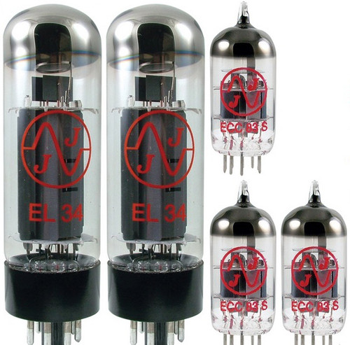 JJ / Tesla Vacuum Tube Amp Set ~ Marshall JCM800 50W