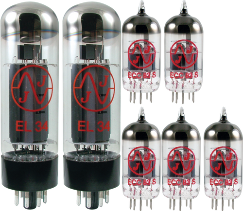 JJ / Tesla Vacuum Tube Amp Set ~ Marshall JVM205C