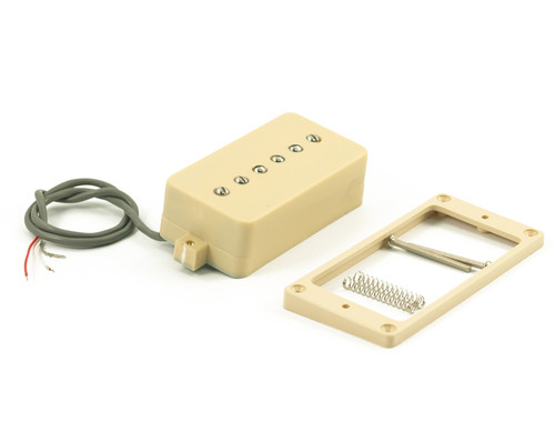 Kent Armstrong® P90 Pickup ~ Convertible Humbucker Retro Fit Cream