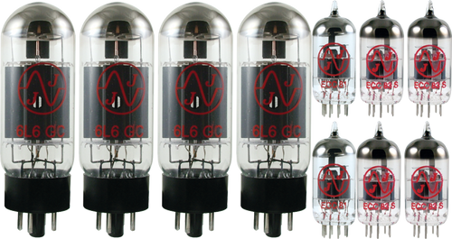 JJ / Tesla Vacuum Tube Amp Set ~ Fender Showman