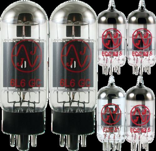 JJ / Tesla Vacuum Tube Amp Set ~ Fender Bassman