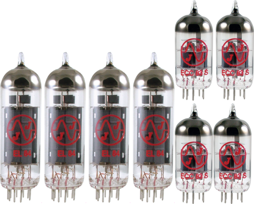 JJ / Tesla Vacuum Tube Amp Set ~ Orange Dual Terror