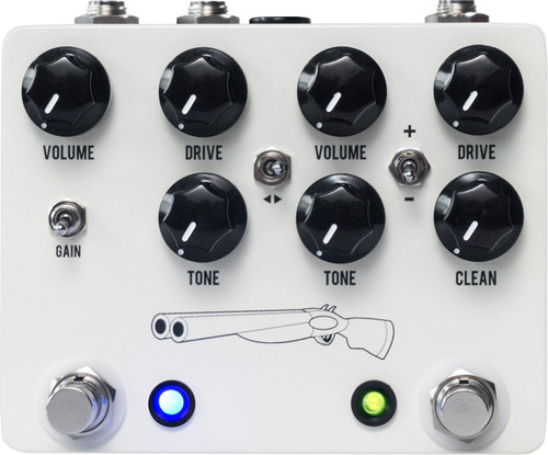 JHS Pedals Double Barrel ~ (Overdrive) NEW V4 (JHSDB)