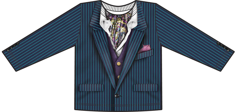 Faux Real Toddler Pinstripe Suit - Front