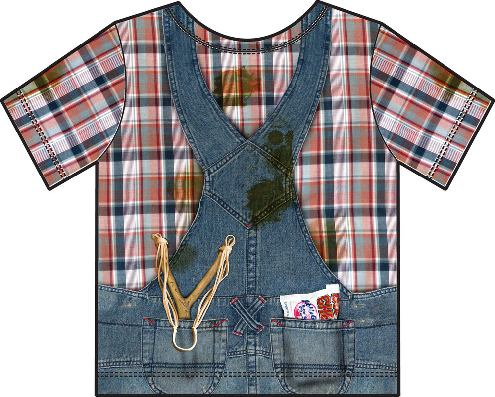 Faux Real Toddler Hillbilly - Back View