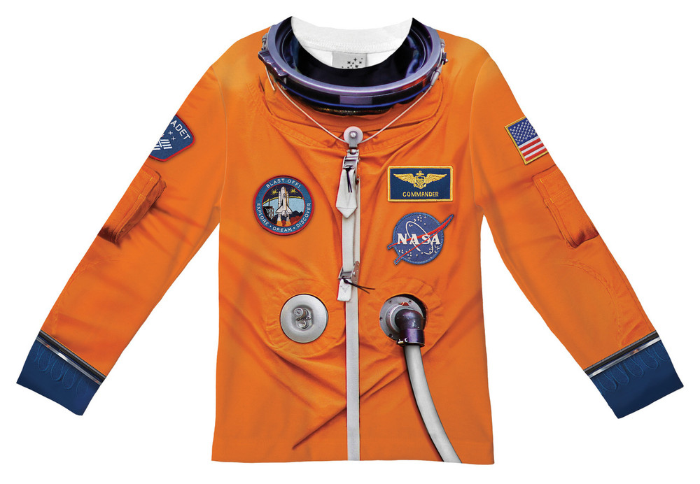 Faux Real Toddler Astronaut - Front View