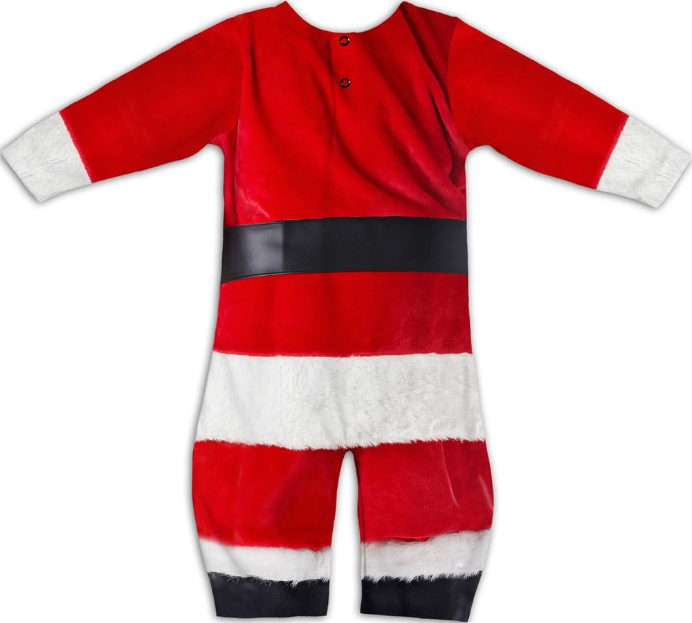 Faux Real Infant Santa Suit - Back View