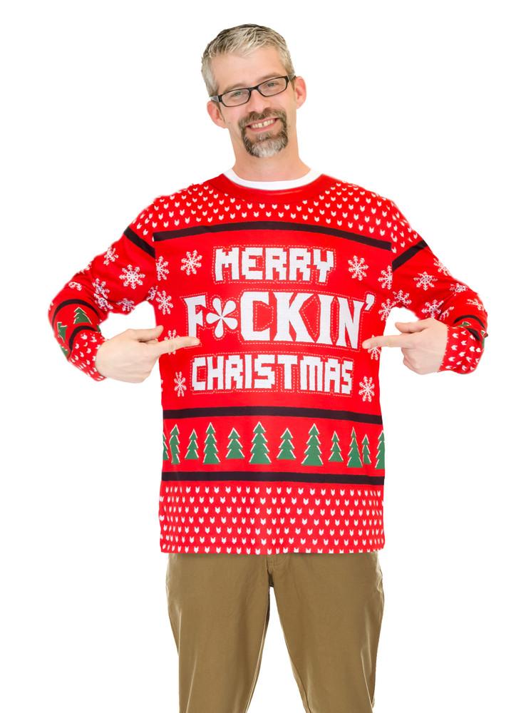 Merry F*ckin' Christmas Sweater
