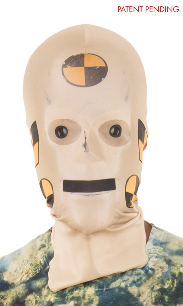 Crash Test Dummy Mask