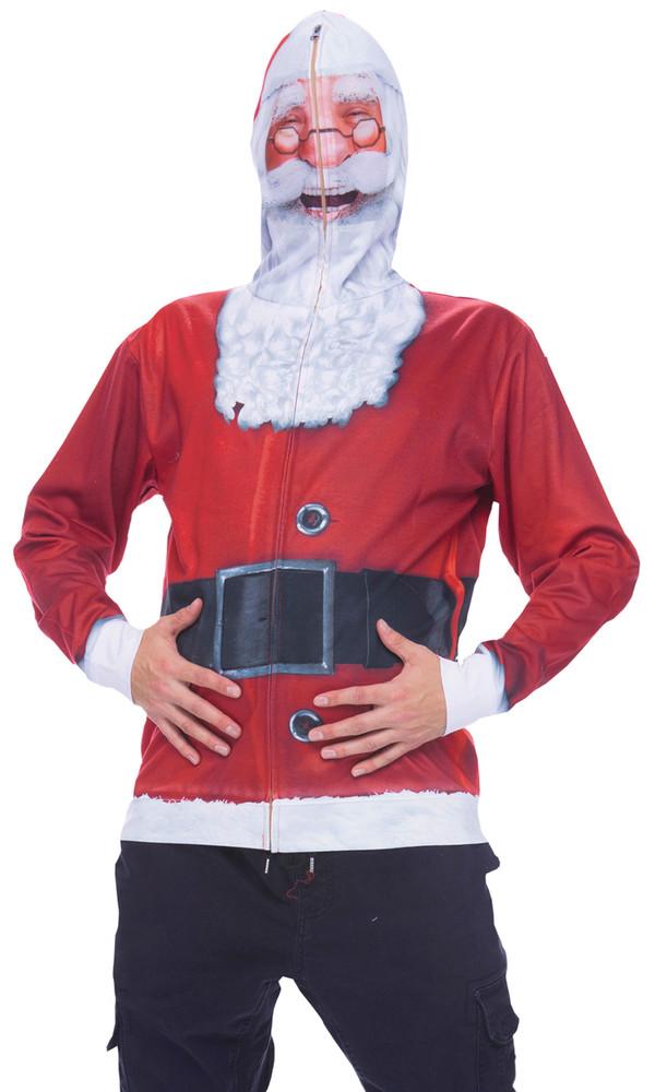 Santa Mask Hoodie