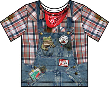 Faux Real Toddler Hillbilly - Front View