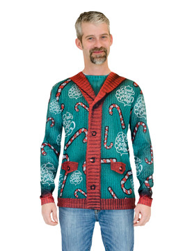 Lick My Candy Cane Xmas Sweater