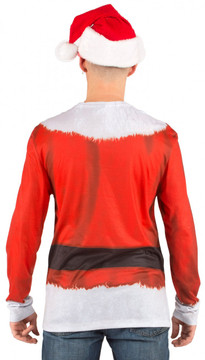 Santa Suit Back View