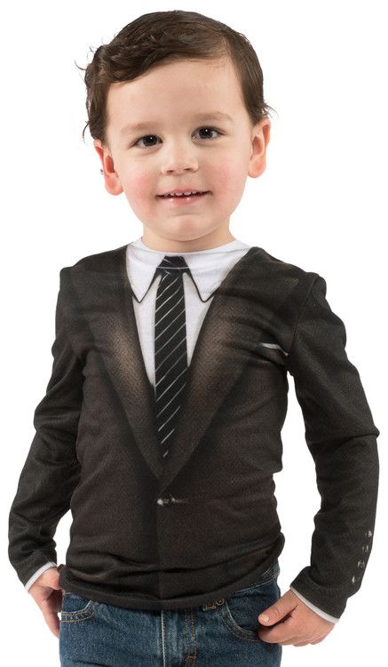 Toddler 60's Suit - Model Front View