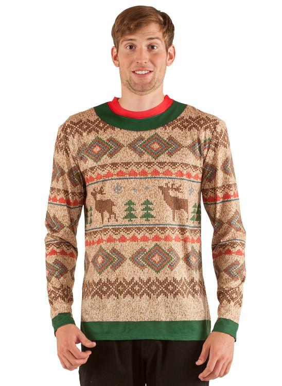 Traditional Reindeer Sweater