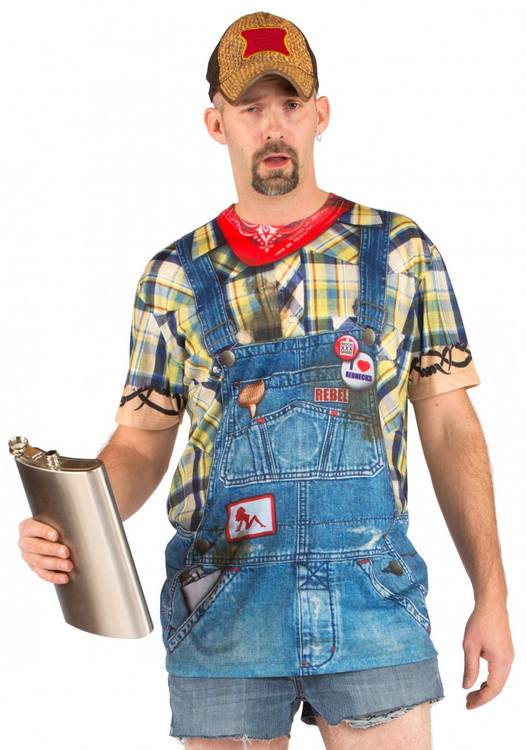 Faux Real Men's Hillbilly Front View