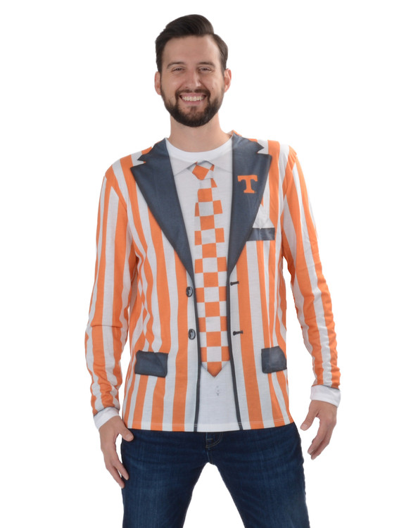 Tennessee Volunteers Striped Suit Tee