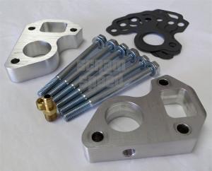 LSx Billet Water Pump Spacers for LS1 Camaro/Truck and LS3 Vette/LS1 Swap