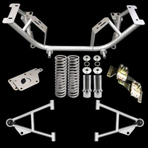 96-04 Chrome Moly K-Member Kit LS1 Adapter Plate/4.6 Ure Mount