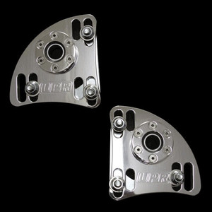 94-04 Caster Camber Plates-Billet Polished