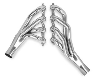 "HOOKER LS-SWAP MID-LENGTH HEADER - CERAMIC COATED, 1-7/8"", Collector Size 3"""