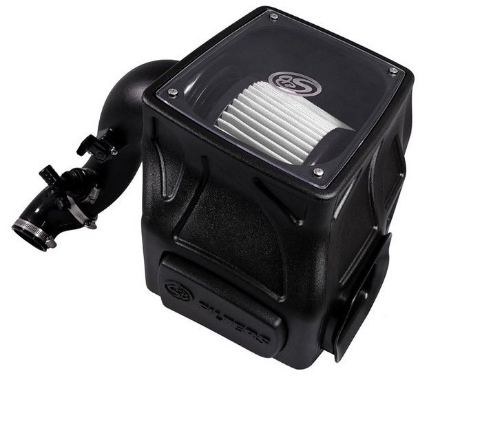 S&B 75-5086D Cold Air Intake for 2016-2017 Colorado / Canyon Duramax 2.8L (Dry Extendable Filter)