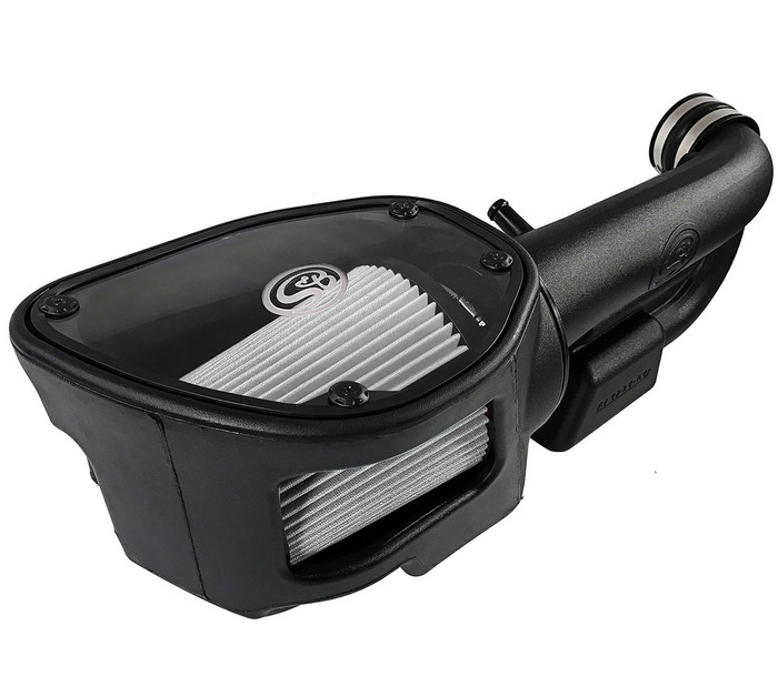 S&B Cold Air Intake 75-5060D for 12-17 Jeep Wrangler JK 3.6L (Dry Extendable Filter)